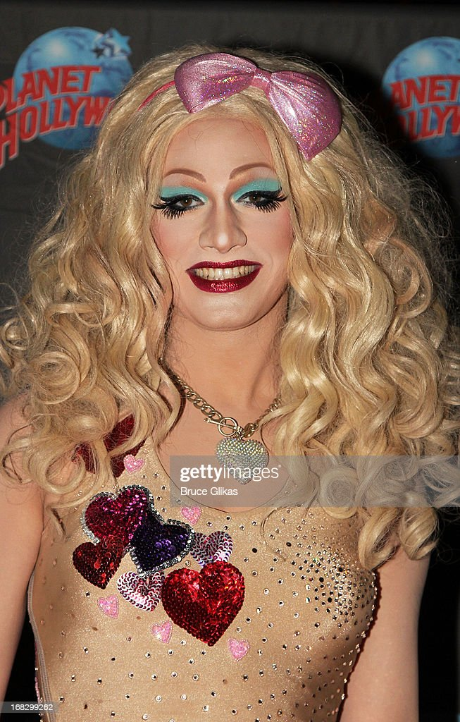 Jinkx Monsoon winner of 'RuPaul's Drag Race' Season 5 attends a promotional appearance at Planet Hollywood Times Square on May 7, 2013 in New York City.