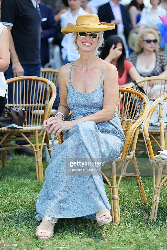 Jinny Esteffan attends the X Polo Fashion Day as part of AltaRoma AltaModa Fashion Week Autumn/Winter 2013 on July 6, 2013 in Rome, Italy.