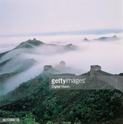 Jinshanling, Great Wall of China, China : Stock Photo
