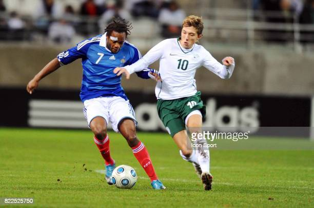 Jires KEMBO EKOKO / Kevin KAMPL France / Slovenie Eliminatoires Euro Espoirs Stade Auguste Delaue Reims