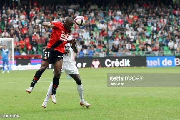 Jires KEMBO EKOKO / M'Baye NIANG Rennes / Caen 4eme journee de Ligue 1