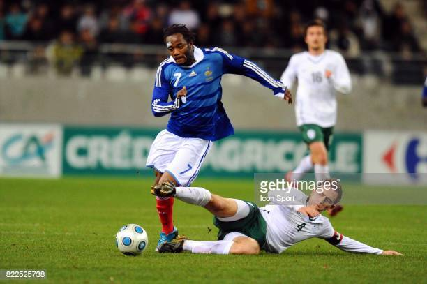 Jires KEMBO EKOKO / Nikola TOLIMIR France / Slovenie Eliminatoires Euro Espoirs Stade Auguste Delaue Reims
