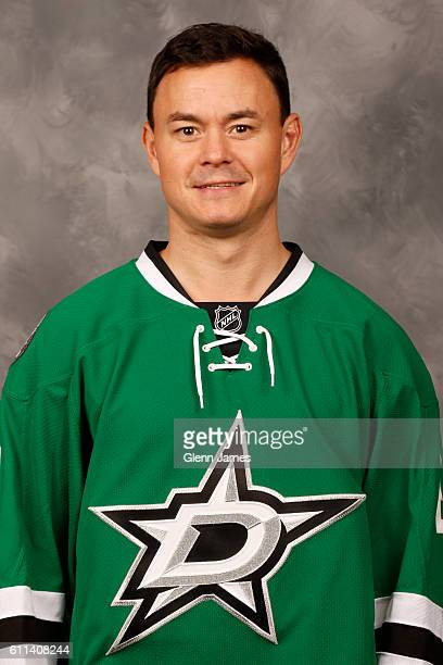 Jiri Hudler of the Dallas Stars poses for his official headshot for the 20162017 season on September 22 2016 at the Dr Pepper Star Center in Frisco...