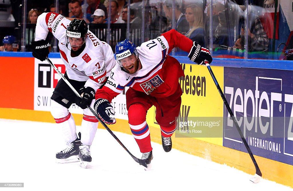 Czech Republic v Switzerland - 2015 IIHF Ice Hockey World Championship