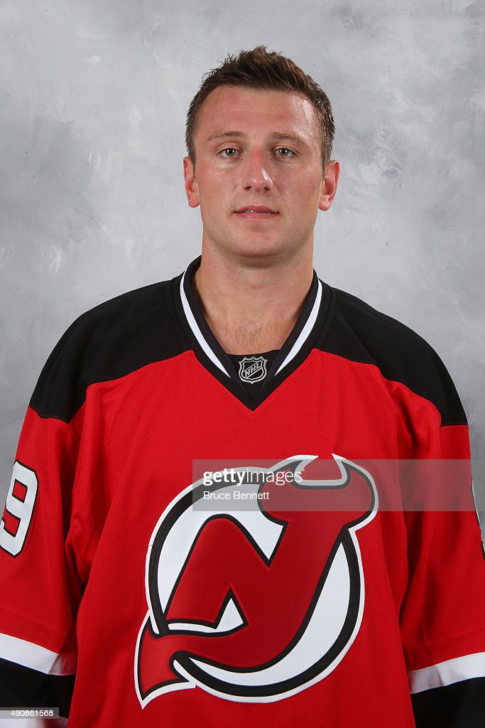 <a gi-track='captionPersonalityLinkClicked' href=/galleries/search?phrase=Jiri+Tlusty&family=editorial&specificpeople=543236 ng-click='$event.stopPropagation()'>Jiri Tlusty</a> of the New Jersey Devils poses for his official headshot of the 2015-16 season at the Prudential Center on September 17, 2015 in Newark, New Jersey.