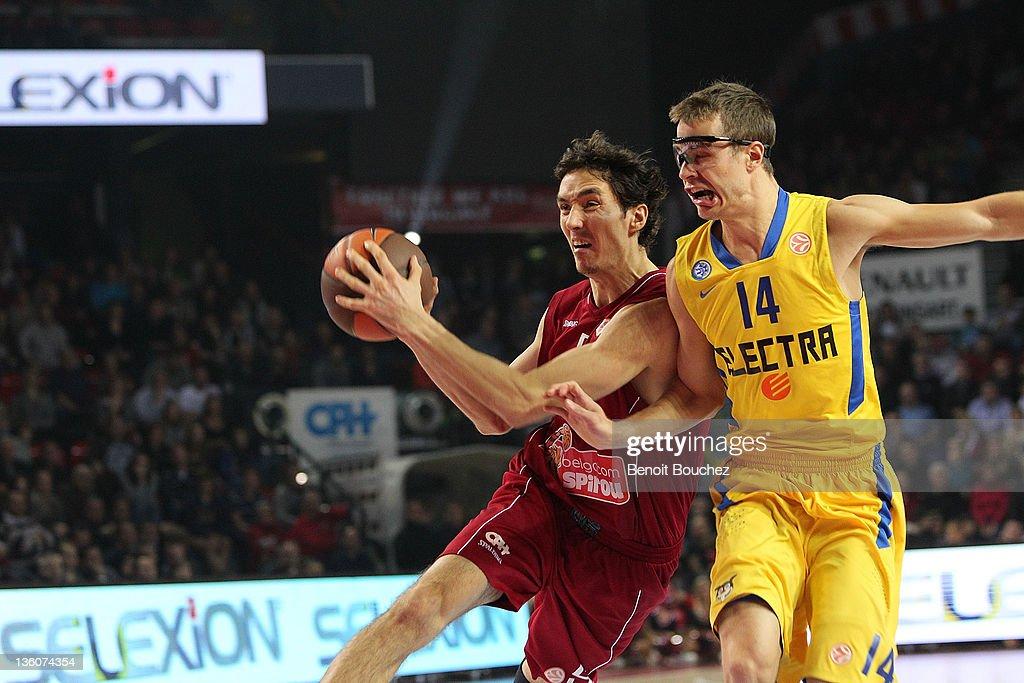 Belgacom Spirou v Maccabi Electra Tel Aviv - Turkish Airlines Euroleague