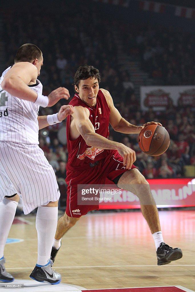 Belgacom Spirou v Partizan mt:s Belgrade - Turkish Airlines Euroleague
