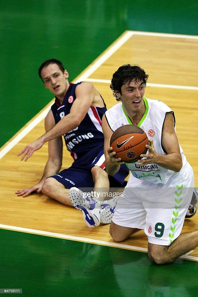Efes Pilsen v Unicaja - EuroLeague Basketball