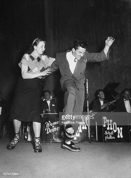 Jitterbug Championship At Frankfurt In Germany On November 1952