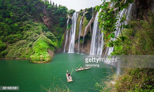 Jiulong waterfalls, China