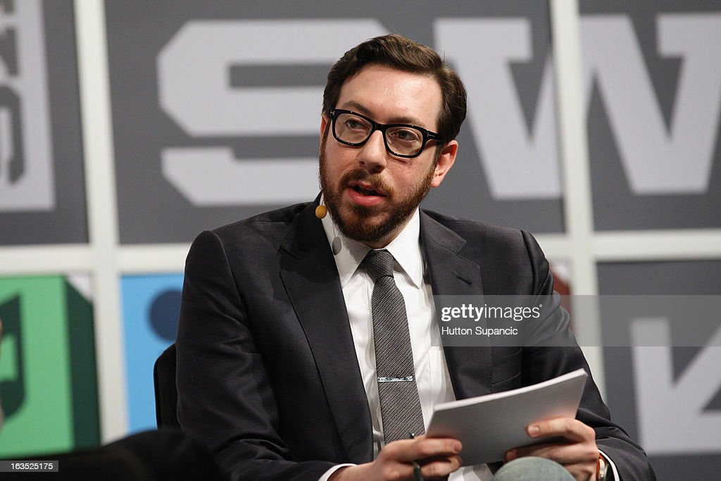 Jjournalist Joshua Topolsky speaks onstage at the Julie Uhrman + Josh Topolsky Keynote during the 2013 SXSW Music, Film + Interactive Festival at Austin Convention Center on March 11, 2013 in Austin, Texas.