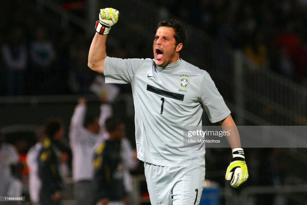 Brazil v Ecuador - Group B Copa America 2011