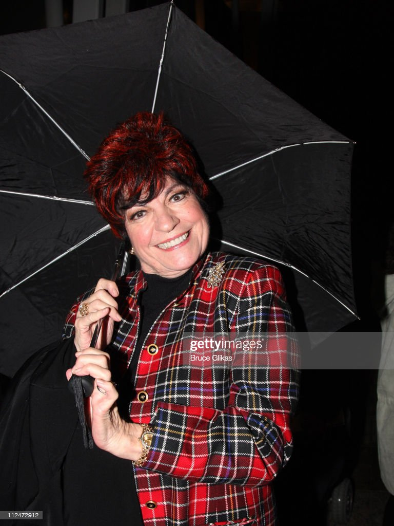 Jo Anne Worley poses during the opening night party for the world premiere of 'Minsky's' held at Ahmanson Theatre on February 6 2009 in Los Angeles...