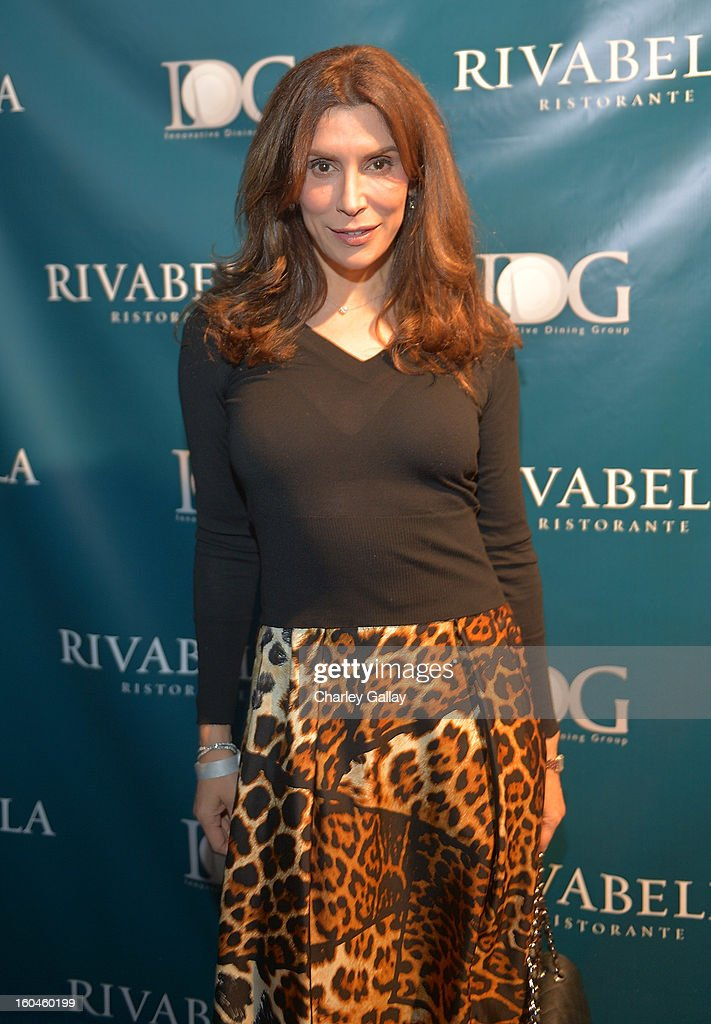 Jo Champa attends the Grand Opening of RivaBella Ristorante on January 31, 2013 in West Hollywood, California.