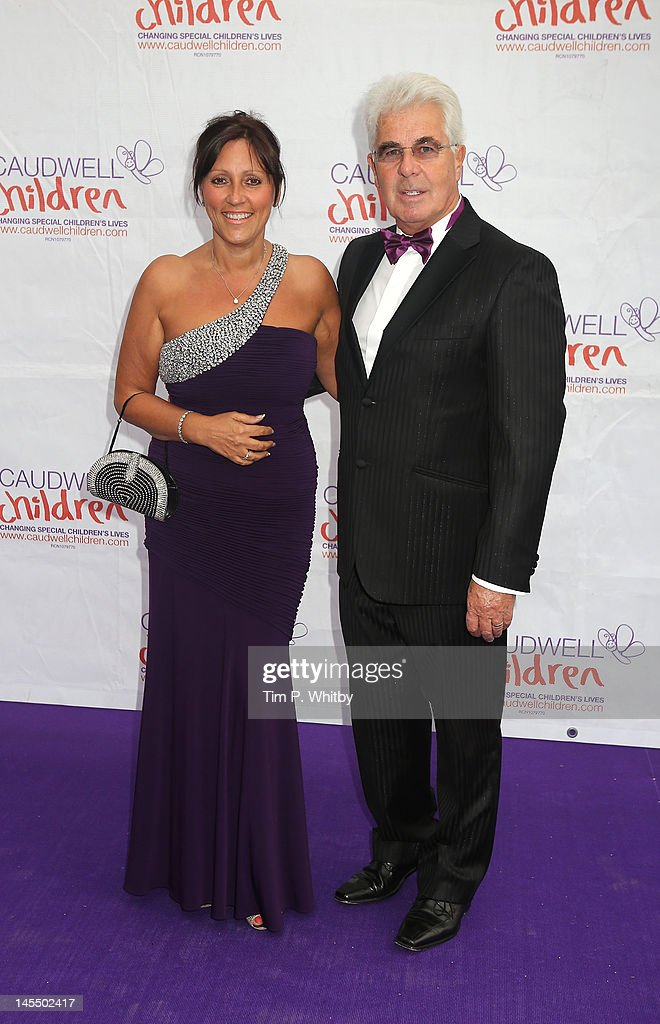 Jo Clifford and Max Clifford attend The Diamond Butterfly Ball in aid Of Caudwell Children at Battersea Evolution on May 31 2012 in London England