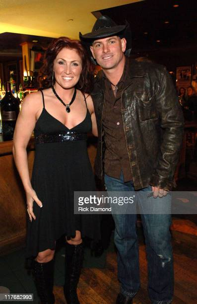 Jo Dee Messina and Keith Anderson during Sprint and SunTrust presents Sound Speed Day1 at Wildhorse Saloon in Nashville TN United States