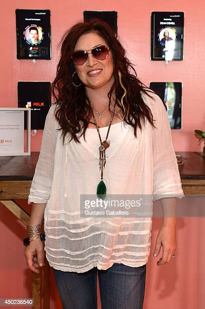 Jo Dee Messina at the Samsung Galaxy Artist Lounge at the 2014 CMA Music Festival on June 7 2014 in Nashville Tennessee