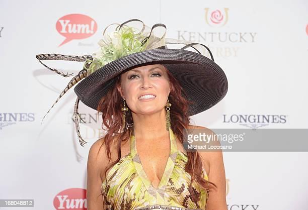 Jo Dee Messina attends the 139th Kentucky Derby at Churchill Downs on May 4 2013 in Louisville Kentucky