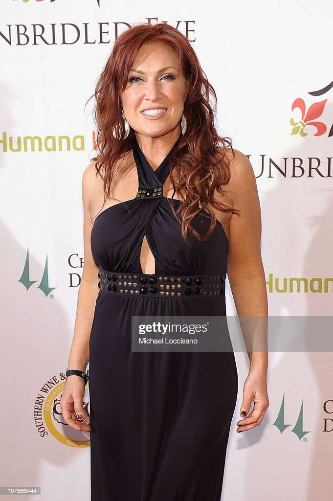 Jo Dee Messina attends the Unbridled Eve Gala for the 139th Kentucky Derby at The Galt House Hotel & Suites' Grand Ballroom on May 3, 2013 in Louisville, Kentucky.
