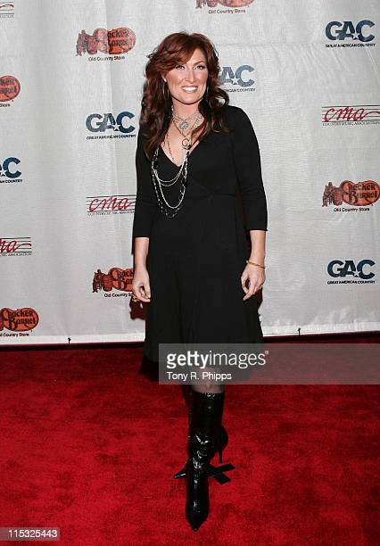 Jo Dee Messina during 2006 Songs of the Year Concert Presented by Cracker Barrel at Schermerhorn Symphony Center in Nashville Tennessee United States