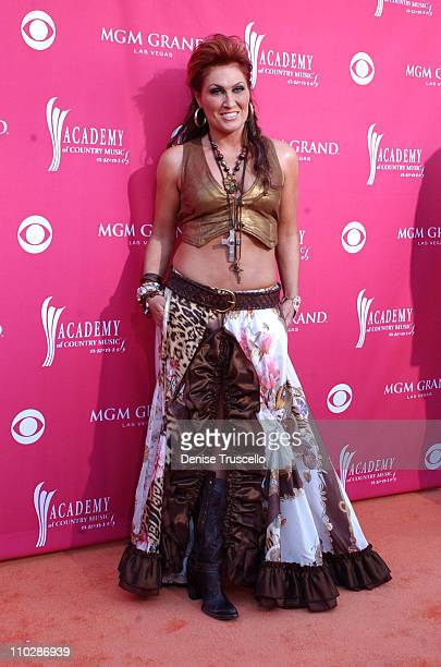 Jo Dee Messina during 41st Annual Academy of Country Music Awards Arrivals at MGM Grand in Las Vegas Nevada United States