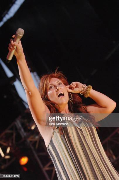 Jo Dee Messina during CMA Music Festival Fan Fair 2007 LP Field Night Three at LP Field in Nashville TN United States
