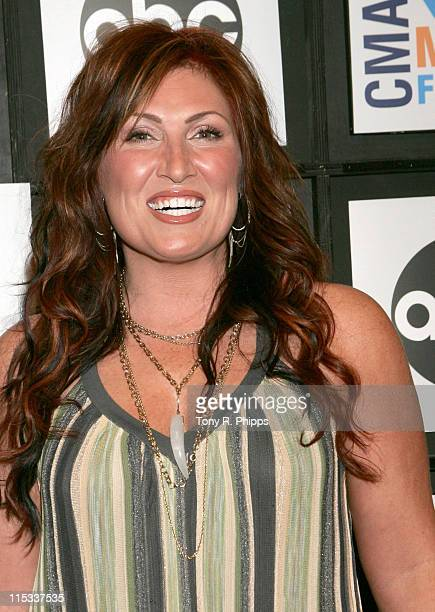 Jo Dee Messina during CMA Music Festival Fan Fair 2007 Saturday Night Press Conference in Nashville Tennessee United States