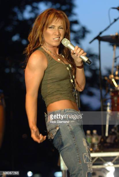 Jo Dee Messina during GRAMMY Block Party and Membership Fair Nashville at Wedgewood 19th in Nashville Tennesse United States