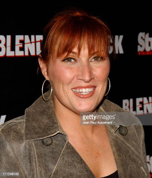 Jo Dee Messina during STUFF Magazine and Blender Host Kid Rock's After Party For The 2003 American Music Awards Red Carpet/Inside at Forbidden City...