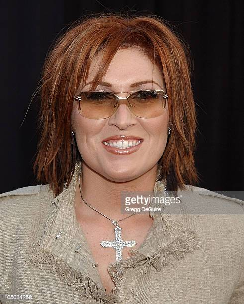 Jo Dee Messina during The 30th Annual American Music Awards Arrivals by Gregg DeGuire at Shrine Auditorium in Los Angeles California United States