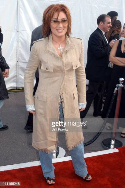 Jo Dee Messina during The 30th Annual American Music Awards Arrivals at Shrine Auditorium in Los Angeles California United States