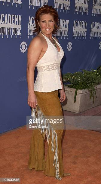 Jo Dee Messina during The 37th Annual Academy of Country Music Awards Arrivals at Universal Amphitheater in Universal City California United States