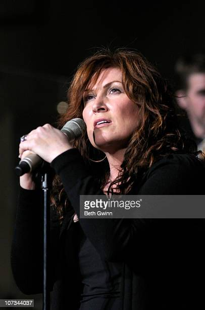 Jo Dee Messina performs during the 2nd annual Christmas Concert at Brentwood United Methodist Church on December 4 2010 in Brentwood Tennessee