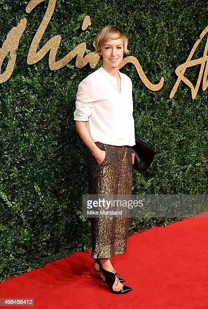 Jo Elvin attends the British Fashion Awards 2015 at London Coliseum on November 23 2015 in London England