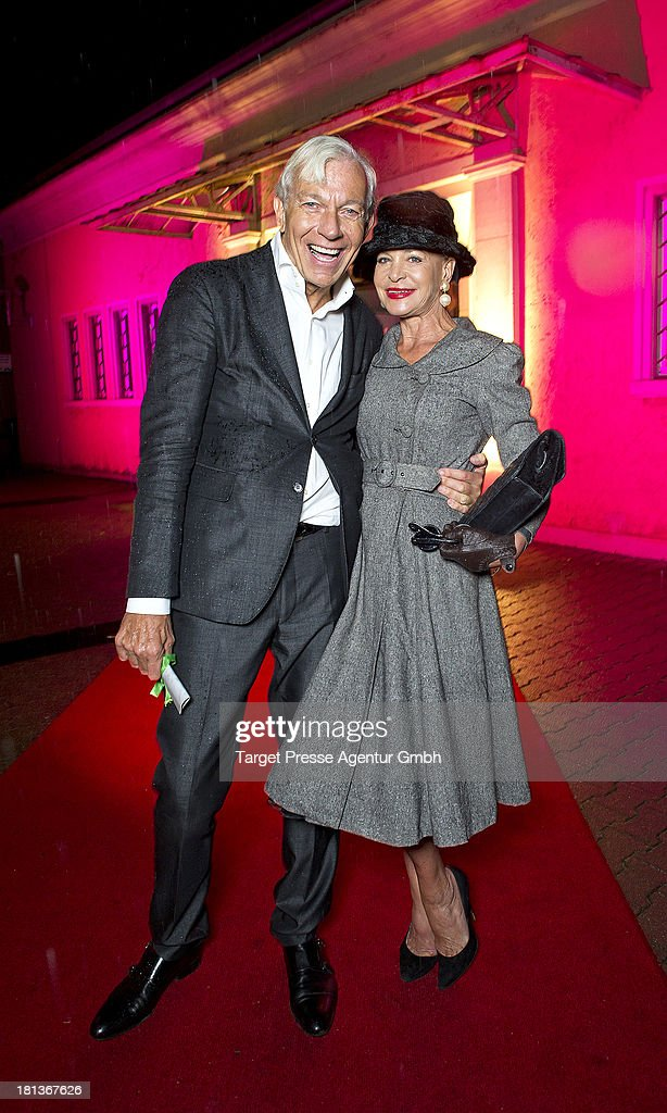 Jo Groebel and Barbara Engel attend the 'Fest der Eleganz und Intelligenz' at Villa Siemens on September 20, 2013 in Berlin, Germany.