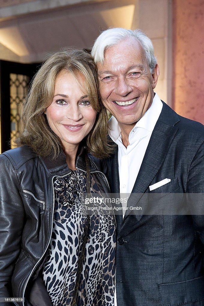 Jo Groebel and Caroline Beil attend the 'Fest der Eleganz und Intelligenz' at Villa Siemens on September 20, 2013 in Berlin, Germany.