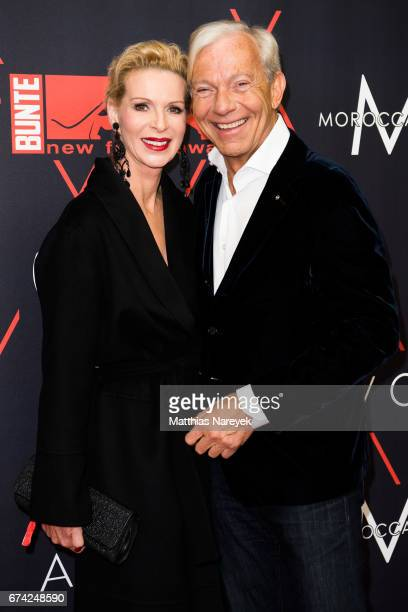 Jo Groebel and Grit Weiss attend the New Faces Award Film at Haus Ungarn on April 27 2017 in Berlin Germany
