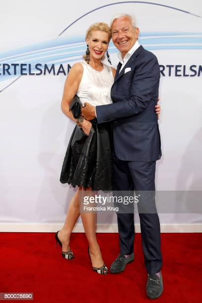 Jo Groebel and his girlfriend Grit Weiss attend the 'Bertelsmann Summer Party' at Bertelsmann Repraesentanz on June 22 2017 in Berlin Germany