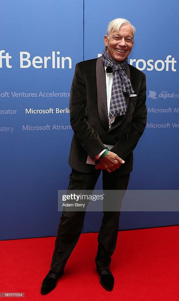 <a gi-track='captionPersonalityLinkClicked' href=/galleries/search?phrase=Jo+Groebel&family=editorial&specificpeople=2298591 ng-click='$event.stopPropagation()'>Jo Groebel</a> arrives for the opening of the Microsoft Center Berlin on November 7, 2013 in Berlin, Germany. The Microsoft Center Berlin, part of a new worldwide initiative called Microsoft Ventures, includes support for startups, conference rooms and the company's 'Digital Eatery,' a cafe and showroom on the ground floor that lets customers try out Microsoft products along with locally-sourced dishes. The company is hoping that the venue will help ensure Microsoft has a place in the city's Internet technology scene.