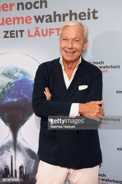 Jo Groebel attends a special screening of 'An Inconvenient Sequel Truth to Power' at Zoo Palast on August 8 2017 in Berlin Germany