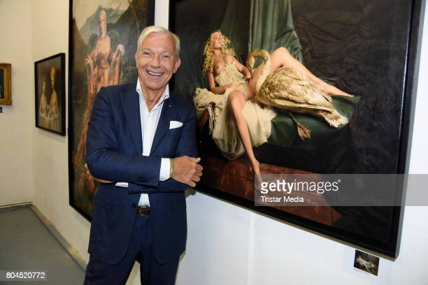 Jo Groebel attends the Vernissage 'Old Masters' on June 30 2017 in Berlin Germany