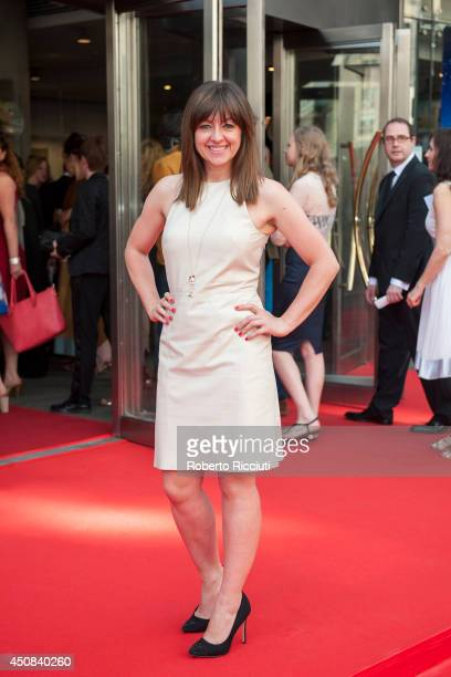 Jo Hartley attends the Premiere of 'HYENA' at Festival Theatre during the Edinburgh International Film Festival on June 18 2014 in Edinburgh Scotland