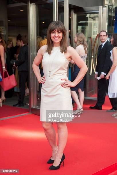Jo Hartley attends the Premiere of 'HYENA' at Festival Theatre during the Edinburgh International Film Festival on June 18 2014 in Edinburgh Scotland