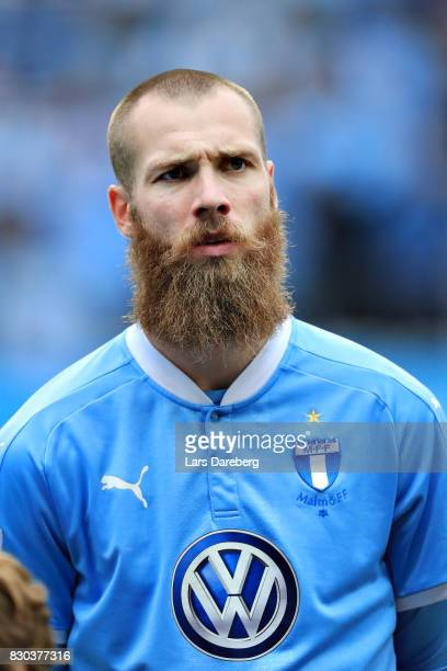Jo Inge Berget of Malmo FF during the Allsvenskan match between Malmo FF and Kalmar FF at Swedbank Stadion on August 11 2017 in Malmo Sweden