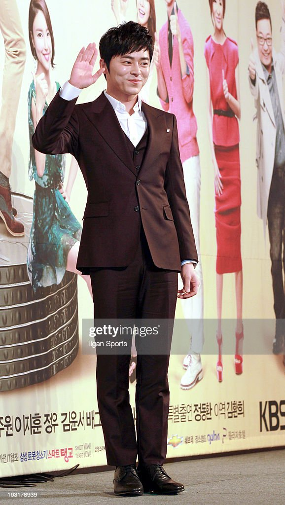 Jo Jeong-Seok attends the KBS 2TV 'You're The Best Lee Soon-Shin' Press Conference at Seoul Plaza on March 4, 2013 in Seoul, South Korea.
