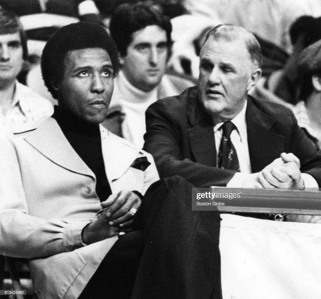 Jo Jo White And Tom Silva
