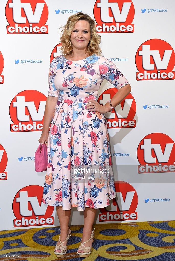 Jo Joyner attends the TV Choice Awards 2015 at Hilton Park Lane on September 7 2015 in London England