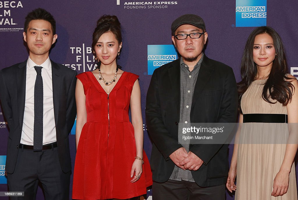Jo Keita, Kiki Sugino, Nobuteru Uchida and Yukiko Shinohara attend the 'Odayaka' World Premiere during the 2013 Tribeca Film Festival on April 18, 2013 in New York City.