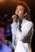 Jo Kwon of 2AM performs onstage during the Incheon Korean Wave Festival 2011 at Incheon World Cup Stadium on August 13 2011 in Incheon South Korea