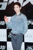 Jo Kwon of South Korean boy band 2AM attends during the 'Cold Eyes' VIP screening at Coex Mega Box on June 25 2013 in Seoul South Korea The film will...